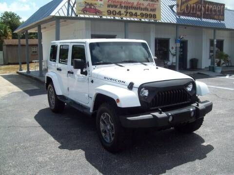 2017 Jeep Wrangler Unlimited for sale at LONGSTREET AUTO in Saint Augustine FL