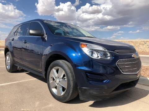 2016 Chevrolet Equinox for sale at Eastside Auto Sales in El Paso TX