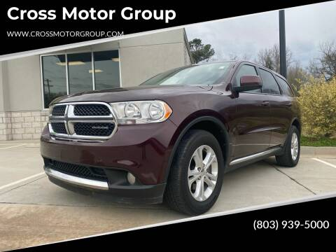 2012 Dodge Durango for sale at Cross Motor Group in Rock Hill SC