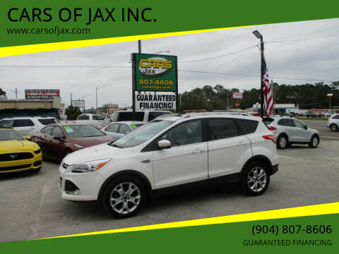 2015 Ford Escape for sale at CARS OF JAX INC. in Jacksonville FL