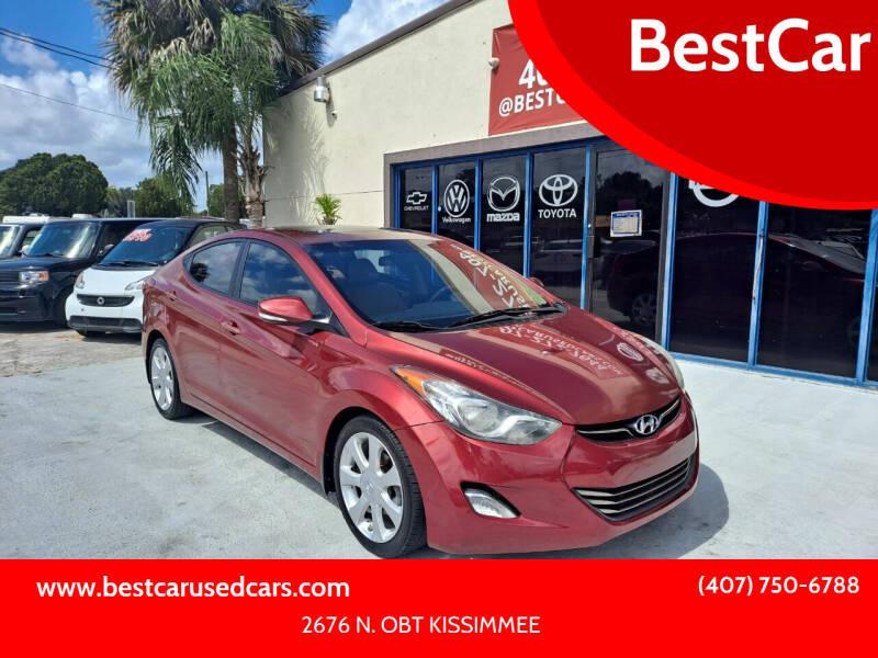 2013 Hyundai Elantra for sale at BestCar in Kissimmee FL