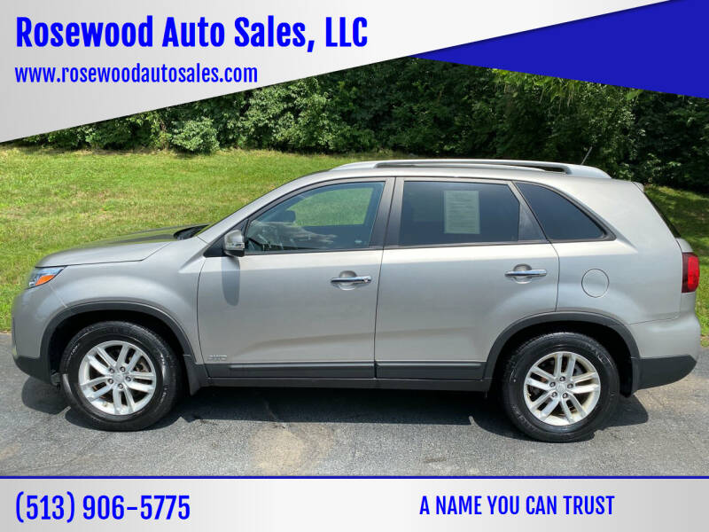 2014 Kia Sorento for sale at Rosewood Auto Sales, LLC in Hamilton OH