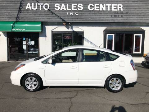 2008 Toyota Prius for sale at Auto Sales Center Inc in Holyoke MA