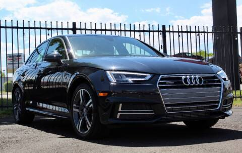 2018 Audi A4 for sale at Avanesyan Motors in Orem UT
