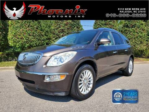 2010 Buick Enclave for sale at Phoenix Motors Inc in Raleigh NC