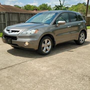 2007 Acura RDX for sale at MOTORSPORTS IMPORTS in Houston TX