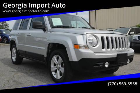 2011 Jeep Patriot for sale at Georgia Import Auto in Alpharetta GA