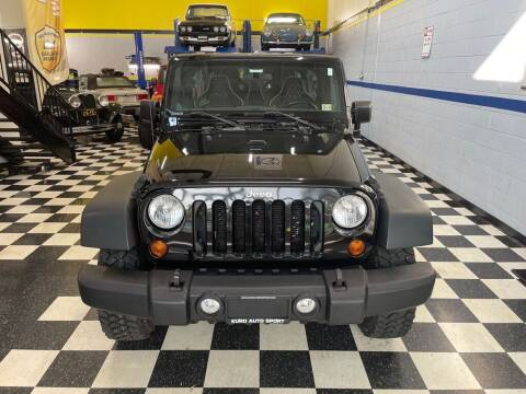 2013 Jeep Wrangler Unlimited for sale at Euro Auto Sport in Chantilly VA