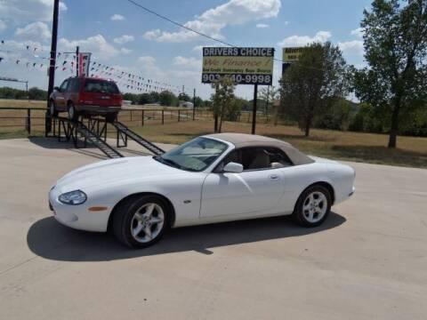 2000 Jaguar XK-Series for sale at Driver's Choice in Sherman TX