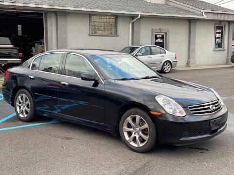 2006 Infiniti G35 for sale at QUALITY AUTO SALES OF NEW YORK in Medford NY