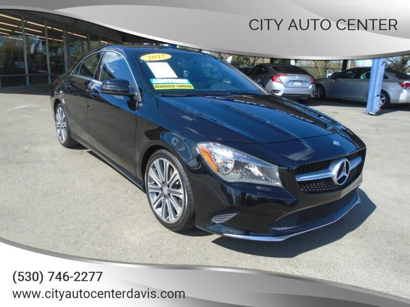 2017 Mercedes-Benz CLA for sale at City Auto Center in Davis CA