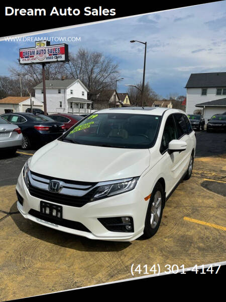 2019 Honda Odyssey for sale at Dream Auto Sales in South Milwaukee WI