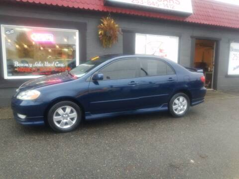 2004 Toyota Corolla for sale at Bonney Lake Used Cars in Puyallup WA