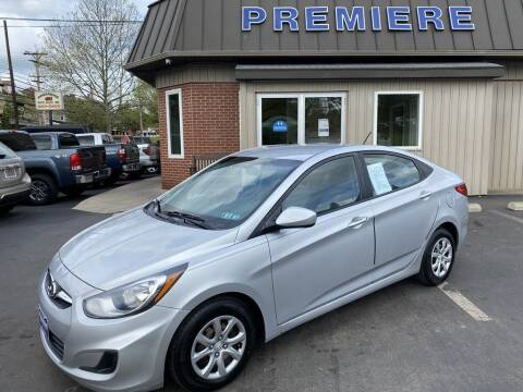 2013 Hyundai Accent for sale at Premiere Auto Sales in Washington PA