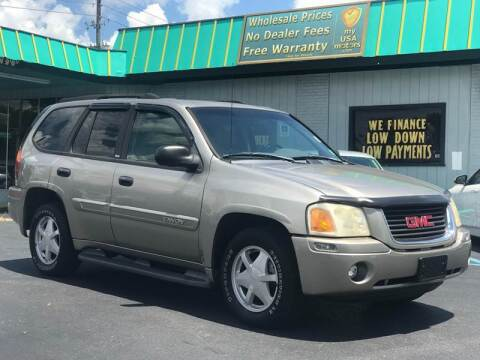 2003 GMC Envoy for sale at my USA motors - (Bad Credit? MYBUYHEREPAYHERE.com) in Brooksville FL