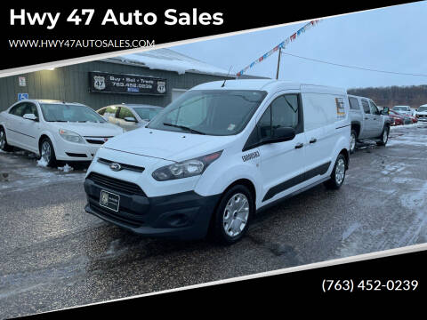 2016 Ford Transit Connect Cargo for sale at Hwy 47 Auto Sales in Saint Francis MN