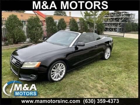 2010 Audi A5 for sale at M & A Motors in Addison IL