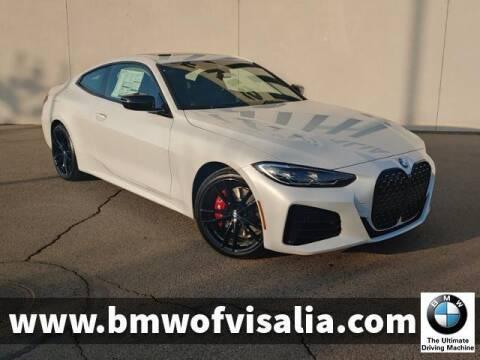 2021 BMW 4 Series for sale at BMW OF VISALIA in Visalia CA