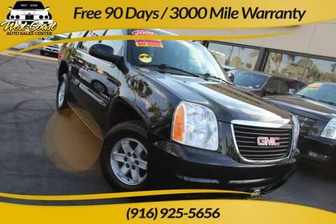 2009 GMC Yukon for sale at West Coast Auto Sales Center in Sacramento CA