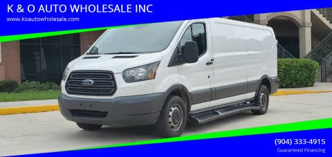 2016 Ford Transit Cargo for sale at K & O AUTO WHOLESALE INC in Jacksonville FL