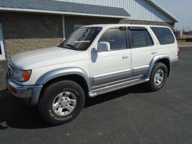 1998 Toyota 4Runner for sale at SWENSON MOTORS in Gaylord MN