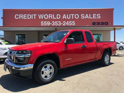 2007 Isuzu i-Series for sale at Credit World Auto Sales in Fresno CA