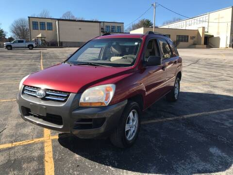 2007 Kia Sportage for sale at Best Deal Auto Sales in Saint Charles MO