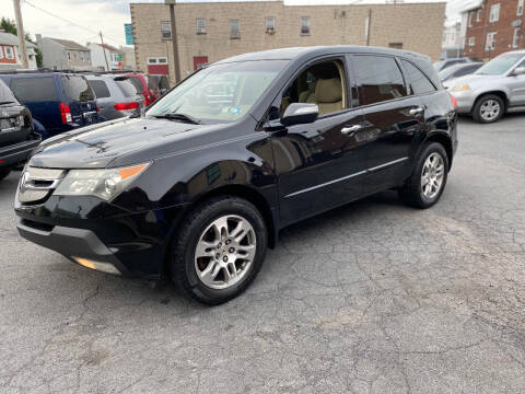 2007 Acura MDX for sale at Centre City Imports Inc in Reading PA