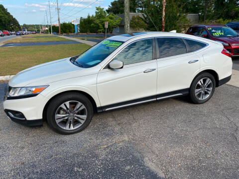 2013 Honda Crosstour for sale at TOP OF THE LINE AUTO SALES in Fayetteville NC