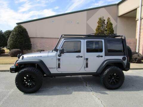 2015 Jeep Wrangler Unlimited for sale at JON DELLINGER AUTOMOTIVE in Springdale AR