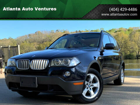 2008 BMW X3 for sale at Atlanta Auto Ventures in Roswell GA