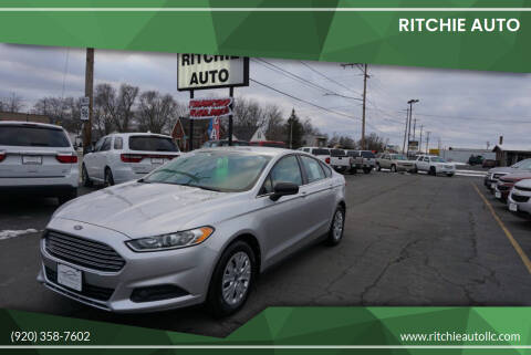 2013 Ford Fusion for sale at Ritchie Auto in Appleton WI