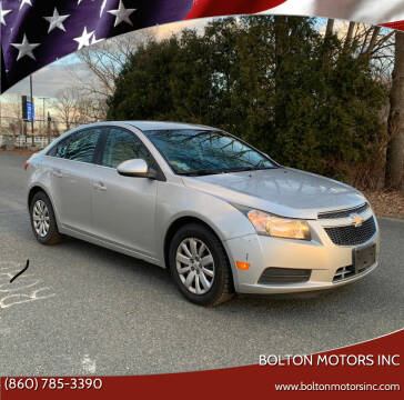 2011 Chevrolet Cruze for sale at BOLTON MOTORS INC in Bolton CT