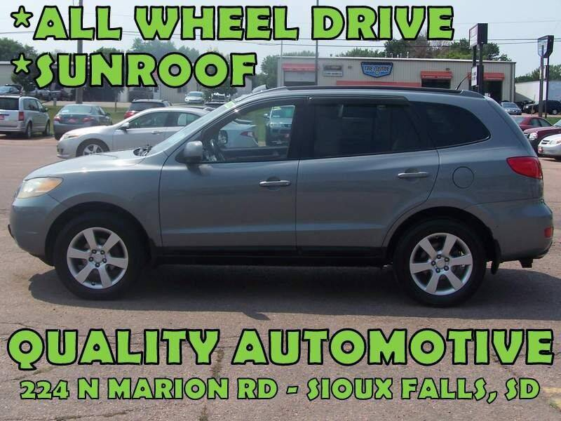 2008 Hyundai Santa Fe for sale at Quality Automotive in Sioux Falls SD