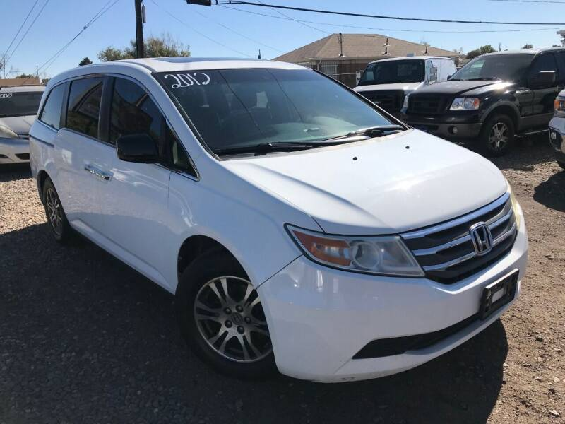 2012 Honda Odyssey for sale at 3-B Auto Sales in Aurora CO