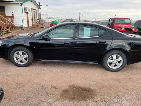 2007 Pontiac Grand Prix for sale at PYRAMID MOTORS - Fountain Lot in Fountain CO