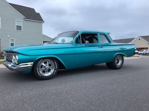 1961 Chevrolet Biscayne for sale at Classic Car Deals in Cadillac MI