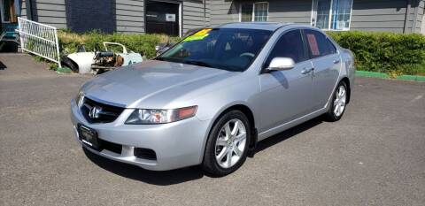2005 Acura TSX for sale at Persian Motors in Cornelius OR