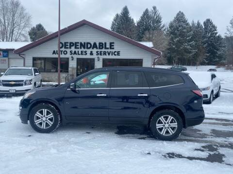 2016 Chevrolet Traverse for sale at Dependable Auto Sales and Service in Binghamton NY