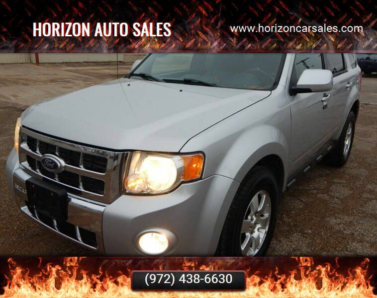 2010 Ford Escape for sale at Horizon Auto Sales in Irving TX