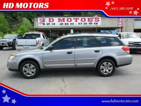 2008 Subaru Outback for sale at HD MOTORS in Kingsport TN