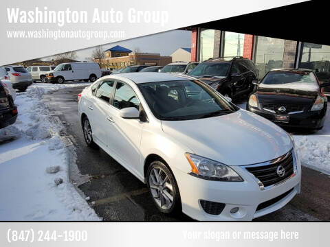 2014 Nissan Sentra for sale at Washington Auto Group in Waukegan IL