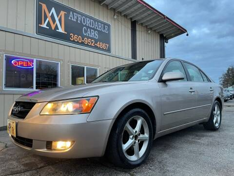 2006 Hyundai Sonata for sale at M & A Affordable Cars in Vancouver WA