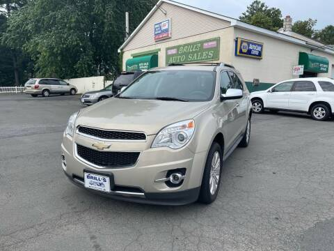 2011 Chevrolet Equinox for sale at Brill's Auto Sales in Westfield MA