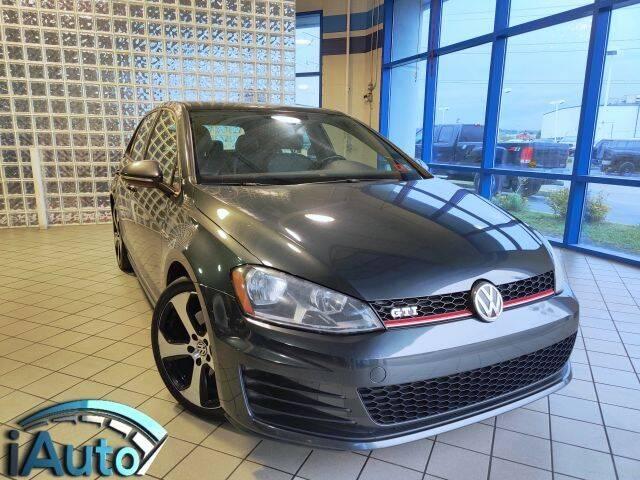 2015 Volkswagen Golf GTI for sale at iAuto in Cincinnati OH