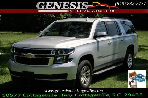 2015 Chevrolet Suburban for sale at Genesis Of Cottageville in Cottageville SC