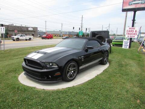 2010 Ford Shelby GT500 for sale at MIRA AUTO SALES in Cincinnati OH