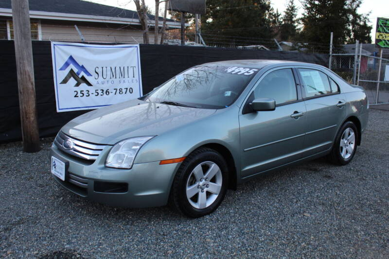 2006 Ford Fusion for sale at Summit Auto Sales in Puyallup WA