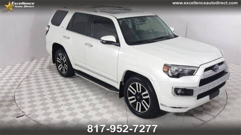 2018 Toyota 4Runner for sale at Excellence Auto Direct in Euless TX