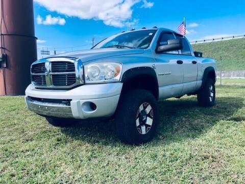 2006 Dodge Ram Pickup 3500 for sale at Venmotors LLC in Hollywood FL